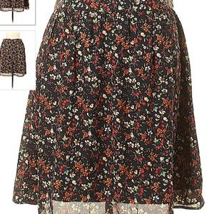 J Crew mercantile floral skirt